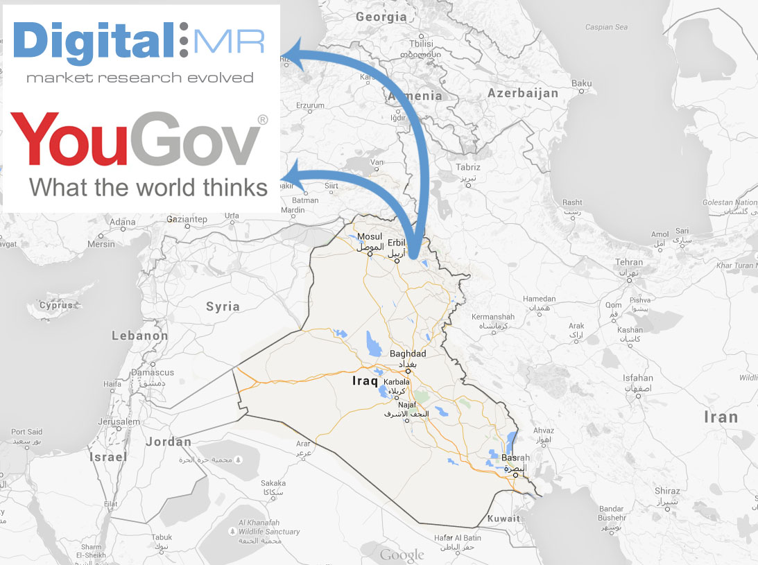 DigitalMR & YouGov Iraq
